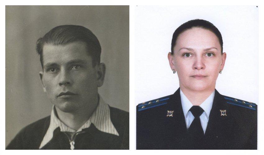 Сотрудница полиции Тверской области рассказала своём дедушке-фронтовике