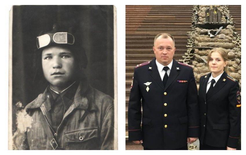 В рамках проекта «Я помню. Я горжусь. Служу России!» тверские полицейские продолжают рассказывать о своих родственниках – участниках Великой Отечественной войны