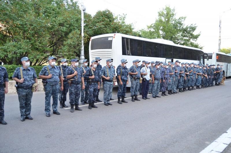 Сотрудники тверской полиции вернулись из служебной командировки