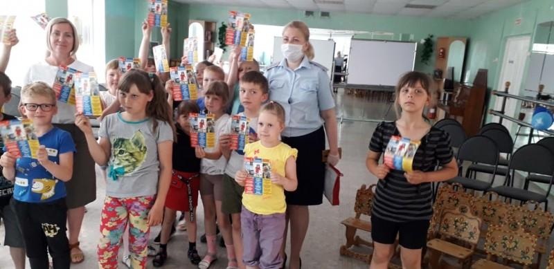 В пришкольных лагерях Удомельского городского округа прошли мероприятия по правилам безопасного поведения на дорогах