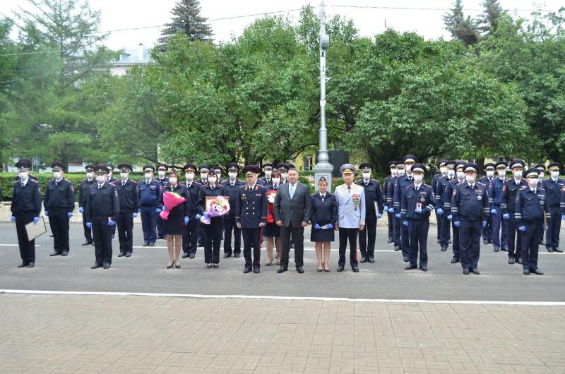 В УМВД России по Тверской области состоялось торжественное мероприятие, посвящённое Дню ГИБДД МВД России