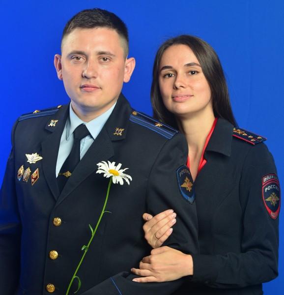 Сотрудники тверской полиции рассказали о своём семейном союзе