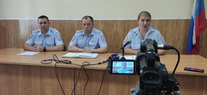 В Управлении МВД России по городу Твери состоялась пресс-конференция