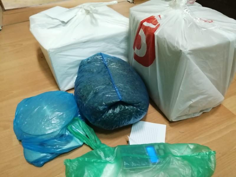 В Конаковском районе полицейские задержали подозреваемого в сбыте и хранении наркотиков растительного происхождения