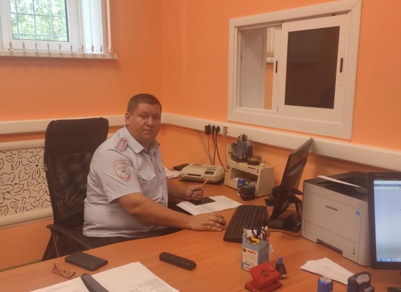 В городе Кимры регистрационно-экзаменационное подразделение областного МРЭО и районное отделение ГИБДД переехали в новое здание