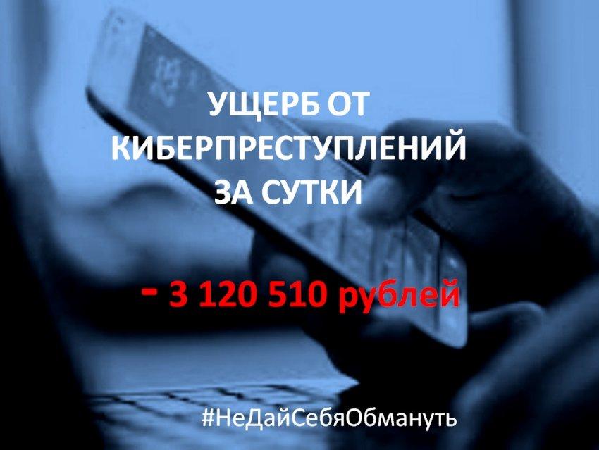 Свыше 3,12 миллиона рублей похитили мошенники у жителей Тверской области в минувшую пятницу