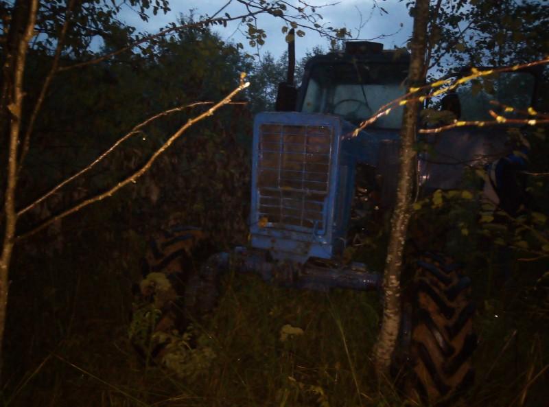 В Тверской области сотрудники полиции раскрыли угон трактора и кражу из дома владения