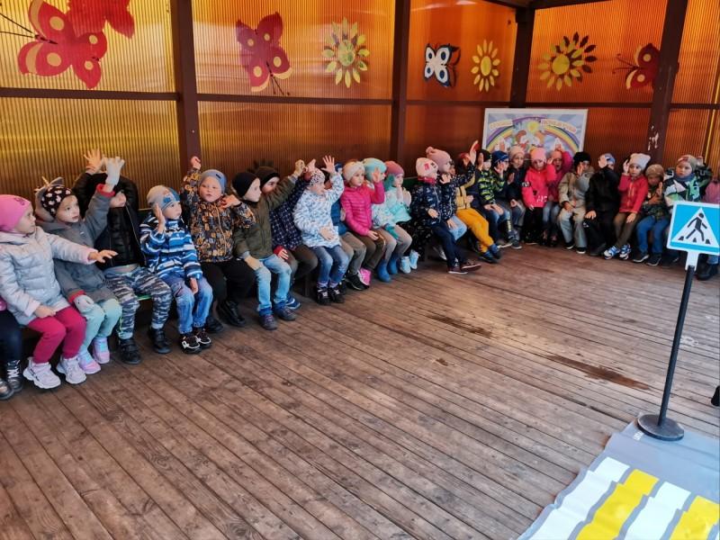 Сотрудники Госавтоинспекции и общественники провели урок безопасности в детском саду