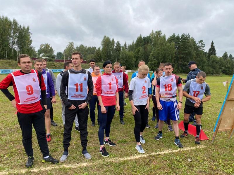 В Твери прошли соревнования по легкоатлетическому кроссу среди полицейских