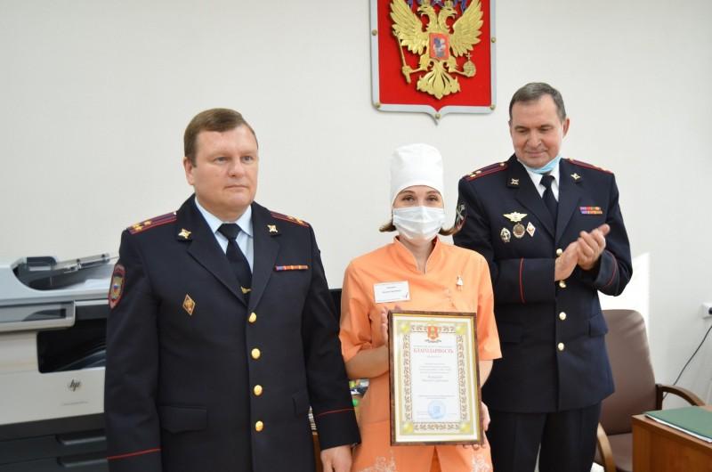 В медико-санитарной части УМВД России по Тверской области состоялось торжественное мероприятие, посвященное столетию образования службы